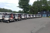 carts lined up